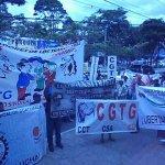 Movilizacion Frente al Ministerio de Trabajo